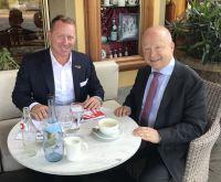 Foto von rechts: Michael Theurer und Marco Altinger