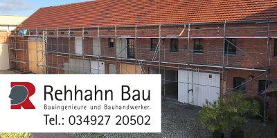 Der Firmensitz der Baufirma Rehhahn Bau - ELER fördert die Rekonstruktion der Fassade (Fassadengestaltung, Fassadensanierung).