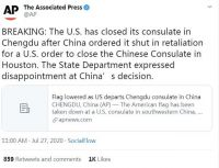 Associated Press Tweet
