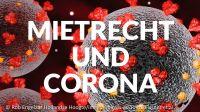 Hinweise für Mieter und Vermieter in Zeiten von Corona
