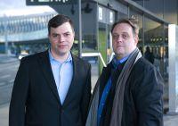 fly.claims-Gründer Johannes Bickel (li.) und Dieter Winder (re.)