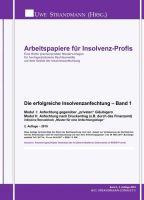 """""""Die erfolgreiche Insolvenzanfechtung - Band 1"""" von Jens-Uwe Strandmann"""
