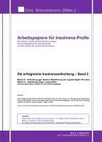 """""""Die erfolgreiche Insolvenzanfechtung - Band 2"""" von Jens-Uwe Strandmann"""