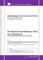 """""""Die erfolgreiche Insolvenzanfechtung - Band 4"""" von Jens-Uwe Strandmann"""