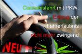 Entzug der Fahrerlaubnis bei Fahrt unter Cannabiseinfluss nicht mehr zwingend