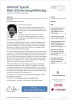 Infobrief Hohe Schmerzensgeldbeträge Ausgabe 2/2016