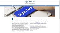 Webseite legal-tech.de