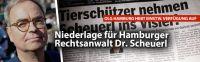 Niederlage für Dr. Scheuerl. Hamburger Rechtsanwalt wollte verhindern, dass er mit Nerzquälern in Verbindung gebracht wird