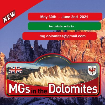 2021 MGs in the Dolomites