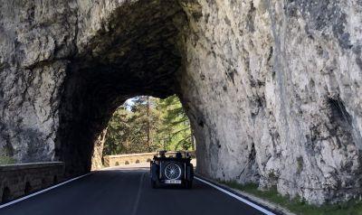 Auf den Paßstraßen der Dolomiten