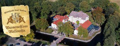 Endlich wieder Usedom genießen auf Wasserschloss Mellenthin