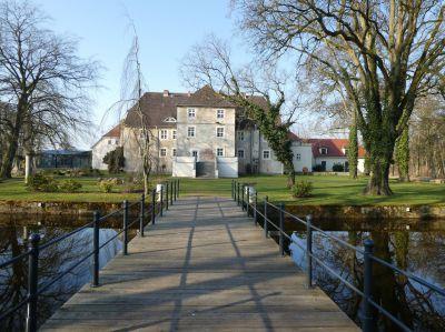 Schlossgarten Wasserschloss Mellenthin