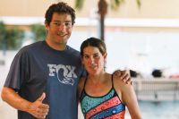 Die mehrfachen Ironman-Sieger Lothar und Nicole Leder