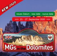 Aktuelle News – 2020 MGs in the Dolomites