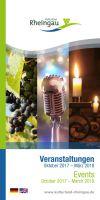 Der aktuelle Veranstaltungskalender Kulturland Rheingau (c)Rheingau-Taunus Kultur und Tourismus GmbH