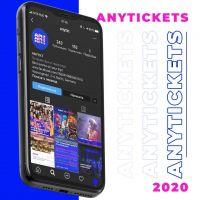 Anytickets App: Die interessantesten Veranstaltungen in Europa auf einen Blick