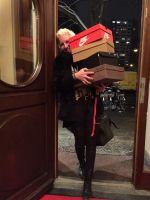 Kult Hotel Inhaberin Antje Last ist auch für die Berlin Fashion Week stets gut vorbereitet.