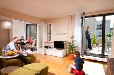 Die Family Suite des ApartHotel Residenz Am Deutschen Theater in Berlin