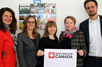 Das neue Team von Destination Canada ab Mai 2018