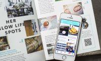 Die Reise App Spottly wird durch ein vierteljährlich erscheinendes Magazin ergänzt.
