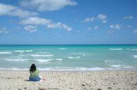 Auch das ist Miami: Strand ohne Menschenmassen