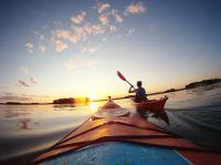 Kayaking in Finnland. Bildnachweis: Harri-Pekka Savolainen/Visit Finland