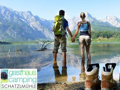 Camping im Salzkammergut - Almcamp Schatzlmühle