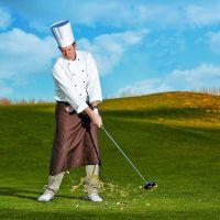 Der kochende Golf-Pro im Golf Resort Bad Griesbach