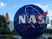 Das Kennedy Space Center Florida USA