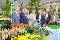 Die Verantwortlichen freuen sich über den großen Besucherzuspruch für die Landesgartenschau Zülpich 2014.