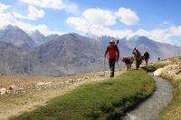 Auf dem Weg zur Engelswiese im Wakhan/Pamir/Tadschikistan