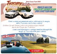 "Deadline – ""Tuscany Cabrio Days 2020"""