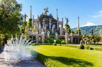 Der Lago Maggiore feiert die Erfindung der Isola Bella