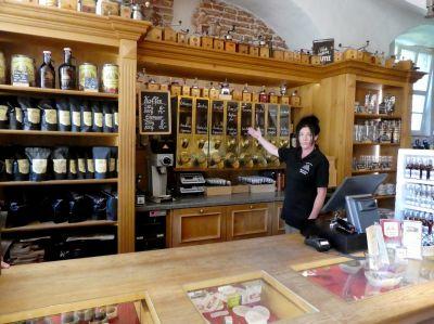 Souvenirs und mehr im Wasserschloss-Shop - auch online