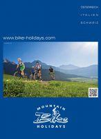 Der Katalog für den perfekten Mountainbike Urlaub in Österreich, Italien und der Schweiz.