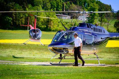 Besonderer Ausflug - Hubschrauberflug