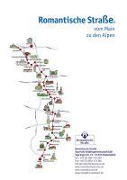 Die Route der Romantischen Straße © Romantische Straße Touristik-Arbeitsgemeinschaft GbR, Dinkelsbühl