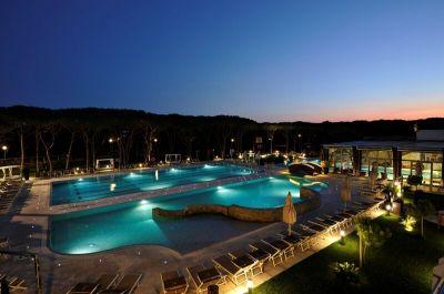 Riva del Sole Resort Nachts
