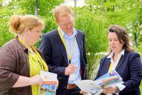 Christina Olboeter-Zorn (Vizepräsidentin VDFA), Hendrik Alberts (Vertriebsleiter Im-Web) Im-web ist fördernder Partner des VDFA, M