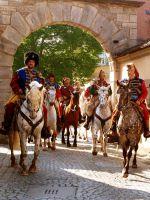 Die Kroaten zu Pferd aus Mittelfranken
