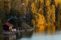 Die Sauna gilt als wichtiger Teil der finnischen Kultur.