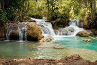 Wasserfälle in Laos