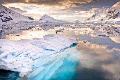 Die endlosen Weiten der Antarktis