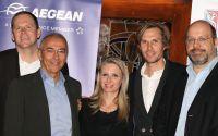 Freuen sich auf die Zusammenarbeit: Hartl Resort Bad Griesbach und AEGEAN Airlines