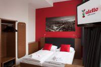 Die modernen Familienzimmer verfügen über zwei Schlafzimmer und bieten Platz für vier Personen