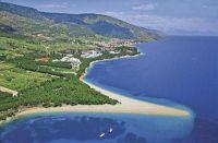 Ferienhäuser an der Küste Kroatiens