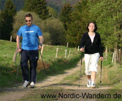 Nordic Walker unterwegs. Copyright: Outdoor & Wandern Konzeptmarketing