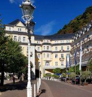 Hier residierte Kaiser Wilhelm im historischen Kurhaus von Bad Ems. Heute ist es als elegantes Grandhotel für Gäste geöffnet.