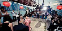 Filipina und Thai in Hongkong heiraten.