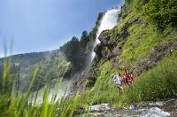 Geocaching am Partschinser Wasserfall – Helmuth Rier – TV Partschins